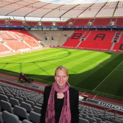 Einsatz in der BayArena Leverkusen