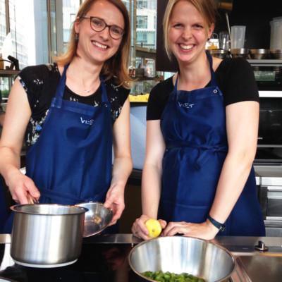 Teambuilding Kochen wie bei Muttern